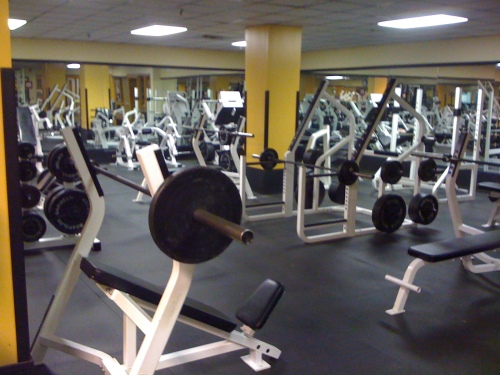 Free-weight-room